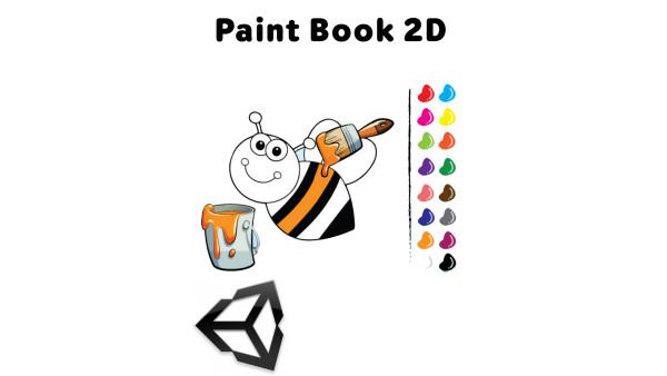 Paint-Book-2D-Unity-Project