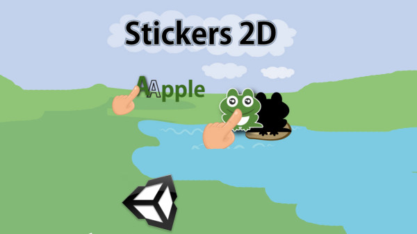 Stickers-2d-Unity
