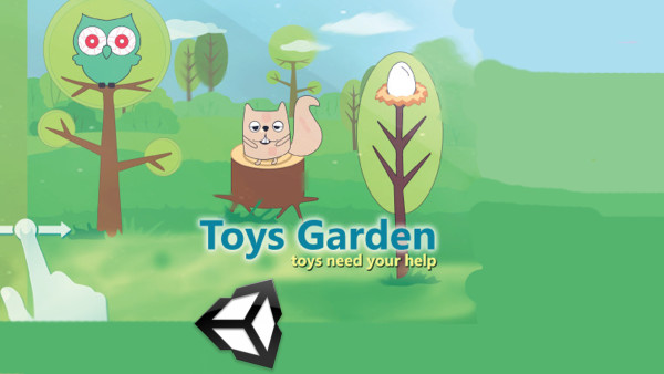 Toys Garden unity project